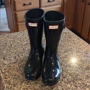 Hunter boots. Size 8.